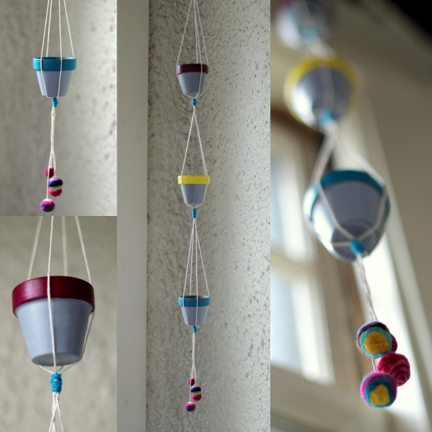 Hanging Planter Collage